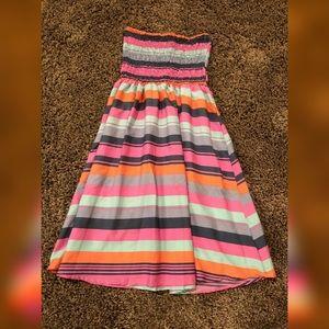 Sleeveless dress or swim cover-up
